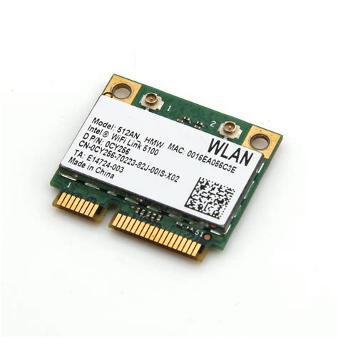 Wifi Link intel link 5100 pci e mini card 512an hmw 300m wireless wifi wlan adapter ebay