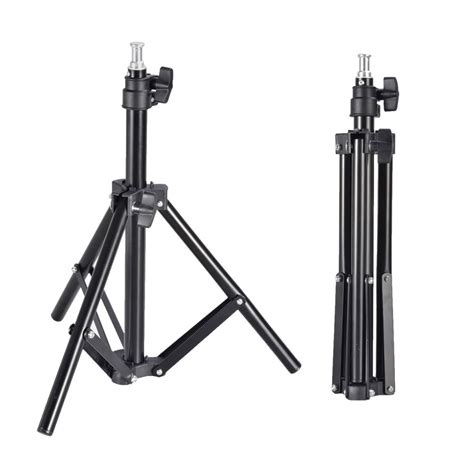 photography light stand photography mini aluminum studio light stand for flash