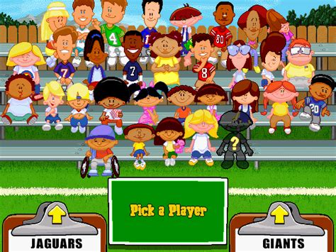 list of backyard sports games backyard football 1999 full game free pc download play