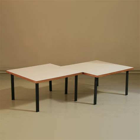 X Side Table 2 X Side Table By Cees Braakman For Pastoe 1950s 50244
