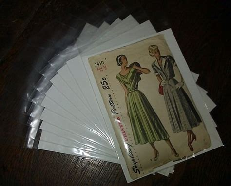 vintage pattern envelopes acid free pattern envelopes archival quality for your
