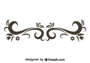 Stylish Design by Stylish Retro Swirl Design Vector Free Download