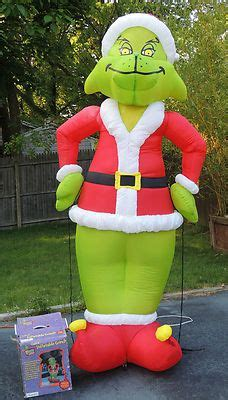 grinch inflatable the grinch stole grinch stole and the grinch on