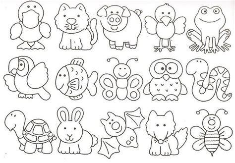 imagenes de animales infantiles dibujos infantiles patrones pinterest animales
