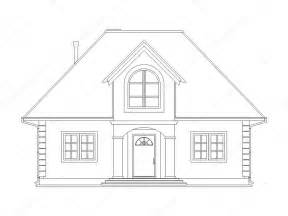 how to draw house house technical draw stock photo 169 vikasuh 6337753