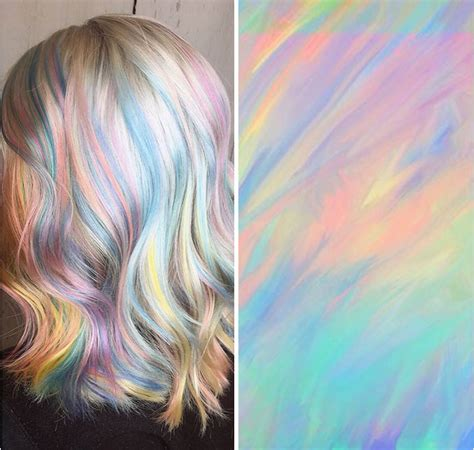 images of hair holographic hair is here and it s the hottest hair trend