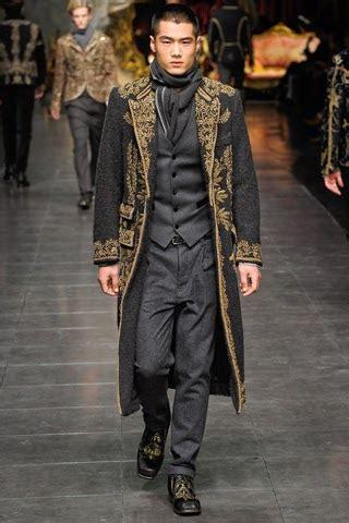 Inspires Mens Fall Fashion by Hello Tailor Dolce Gabbana Menswear Fall 2012