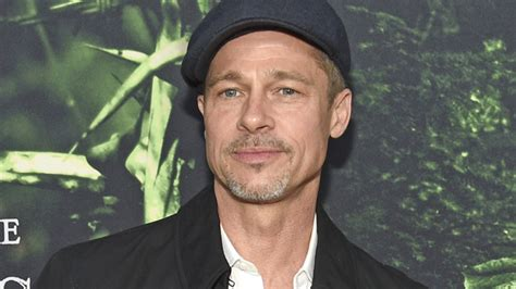 ow pit brad pitt shows new look in appearance photos