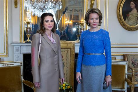 Reina Syiria 01 royal family around the world mathilde of belgium