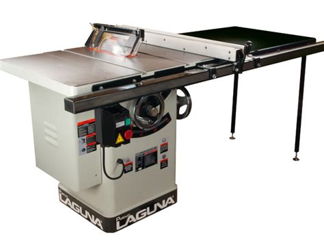 laguna table saw platinum series tablesaw left tilt w t square fence