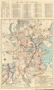 Boston Mta Map by Boston Mta Map 1948 Charlestown Boston Pinterest