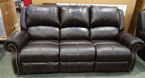 costco sale berkline leather reclining sofa 799 99