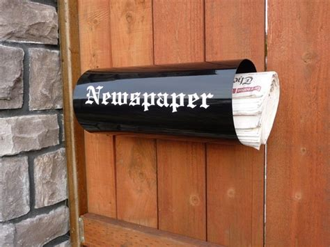 mailbox with mailbox with newspaper holder for apartments ideas the