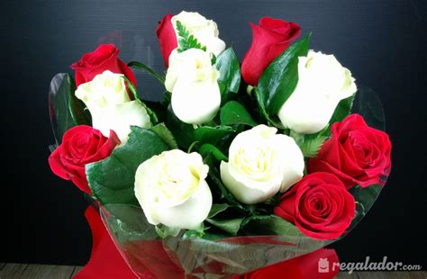 imagenes de flores rojas y blancas regalador com ramo de rosas rojas y blancas