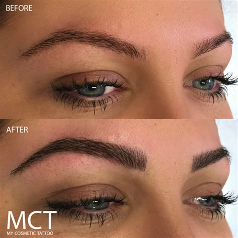 3d eyebrow tattoo 3d eyebrow before and after www imgkid the