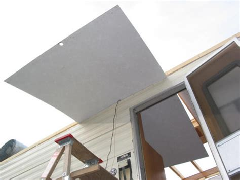 Trailer Ceiling Panels Repair Trailer Roof Continued