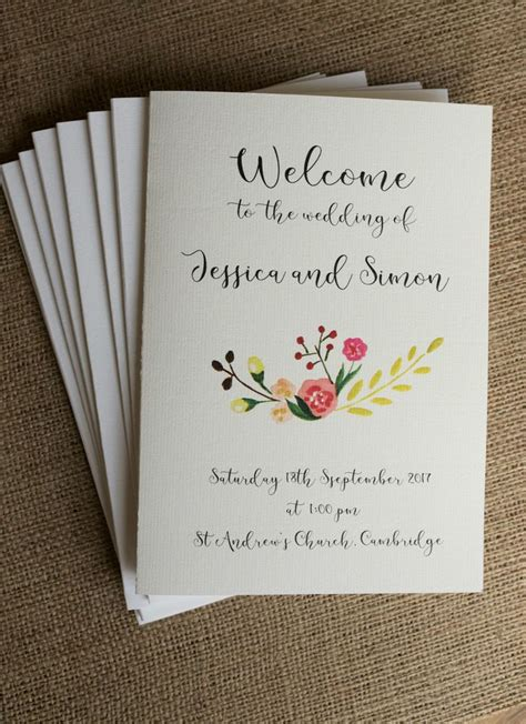 best 25 order of service ideas only on wedding order of service wedding booklet