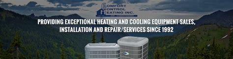 comfort control inc comfort control heating inc