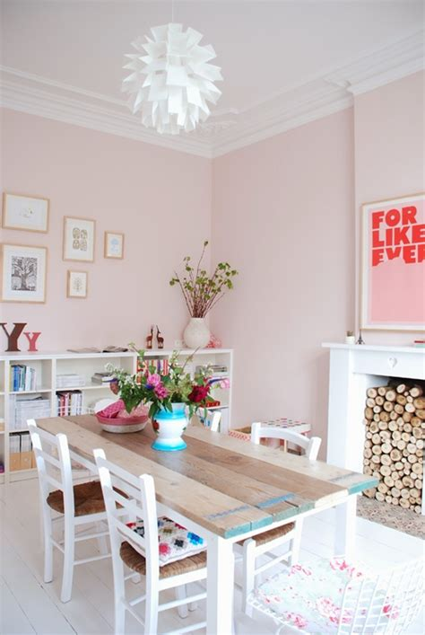 paint color portfolio pale pink dining rooms apartment therapy