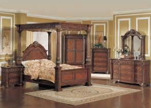 four post king size beds car interior design vachel 5pc king size poster bedroom set dark brown