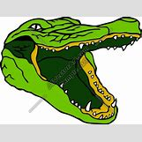Alligator Mouth Open Drawing | 500 x 378 png 115kB