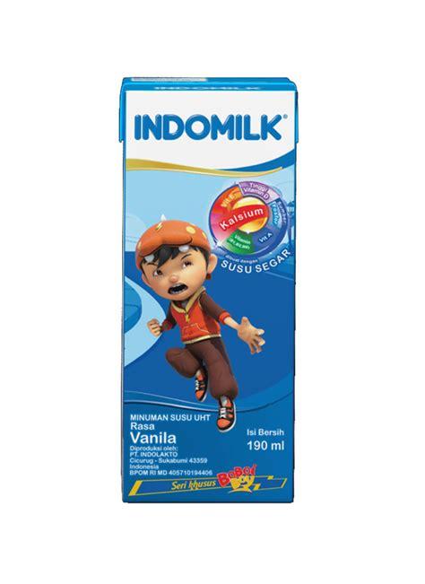 Indomilk Uht Strawberry 250 Ml by Indomilk Cair Uht Vanilla Tpk 190ml