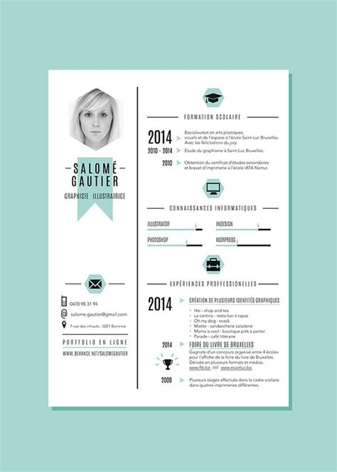 17 best ideas about graphic designer resume on