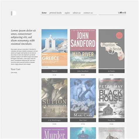 templates for bookstore hot bookstore sell books online hotthemes