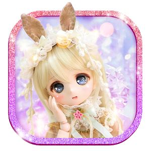 girly doll wallpaper cute girl theme anime doll girly wallpaper hd android