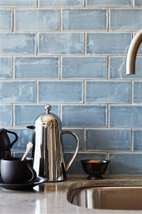 blue tile backsplash best 25 blue subway tile ideas on glass