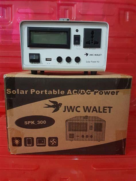jual solar portable ac dc power harga murah banjarmasin