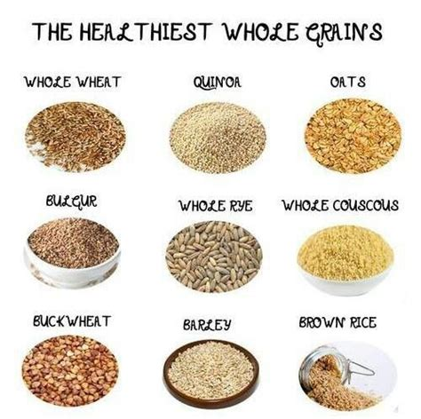 whole grains unprocessed whole grains healthy carbs