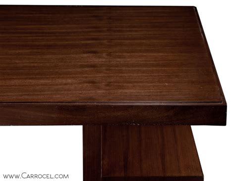 deco office desk custom made walnut deco office desk carrocel