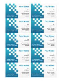 business card template on word free business card templates make your own business