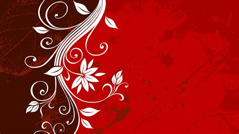 15 red floral wallpapers floral patterns freecreatives