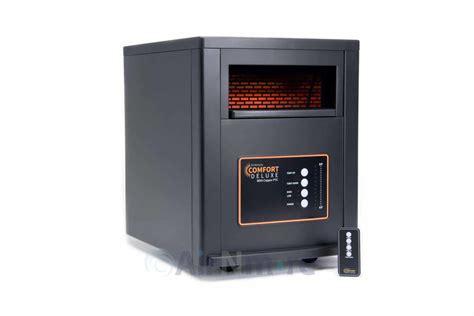 comfort deluxe  copper ptc infrared zone heater