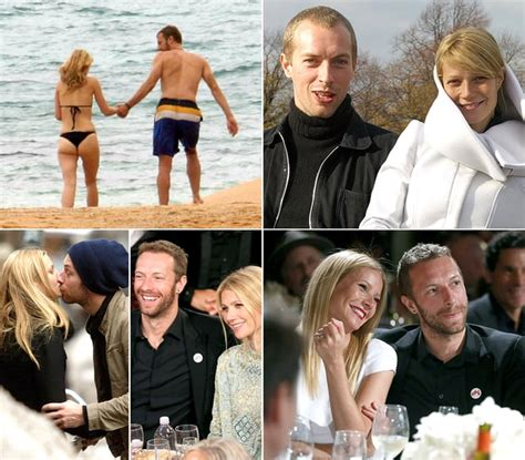 chris martin and gwyneth paltrow gwyneth paltrow and chris martin through the years