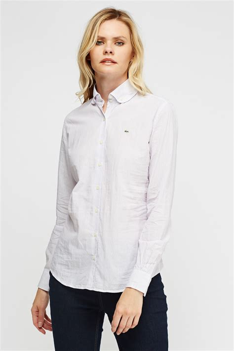 Promo Dress Mini J452 Limited Edition lacoste pinstriped formal shirt limited edition discount designer stock