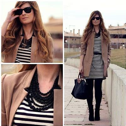 Gamis Simply Look Preppynavia 21 a trendy h m jacket ecoology dress zara boots longch bag simply look lookbook