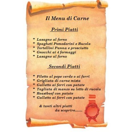menu per banchetti il 249 di carne ristorante pizzeria malaga caorle