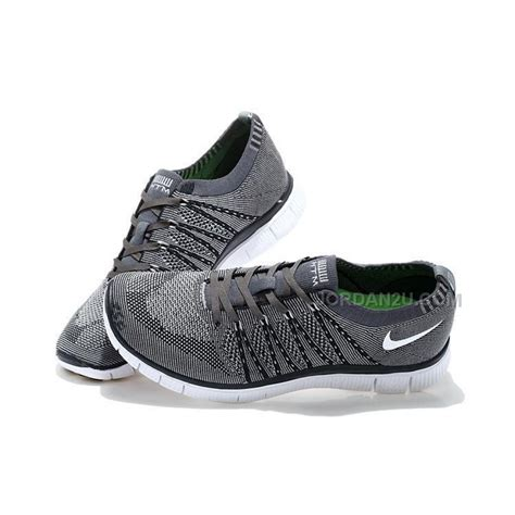 nike free fly knit nike free flyknit 5 0 mens running shoes gray black price
