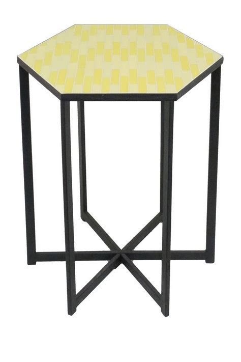 metal accent table three metal accent table yellow nordstrom rack