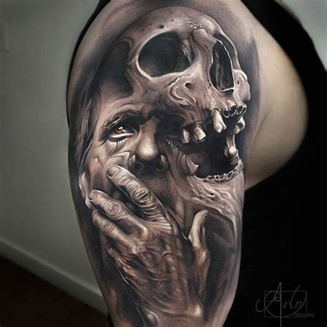 tattoo nightmares zeus a curated collection of black grey tattoos tattoodo