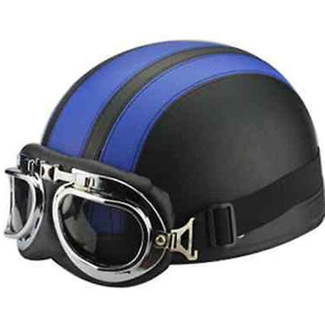 motocross helmet and goggles leather motorcycle helmet open half moto helmets
