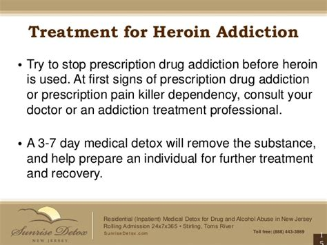 Treatment After Detox by Heroin Addiction Treatment In New Jersey Bags Bundles