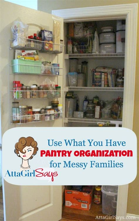 The Pantry Mission by Mission Organization Use What You Pantry Organization For Families Pantry