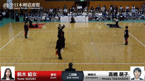 Yume Suzuki Yume Suzuki 1m Moeko Takahashi 56th All Japan