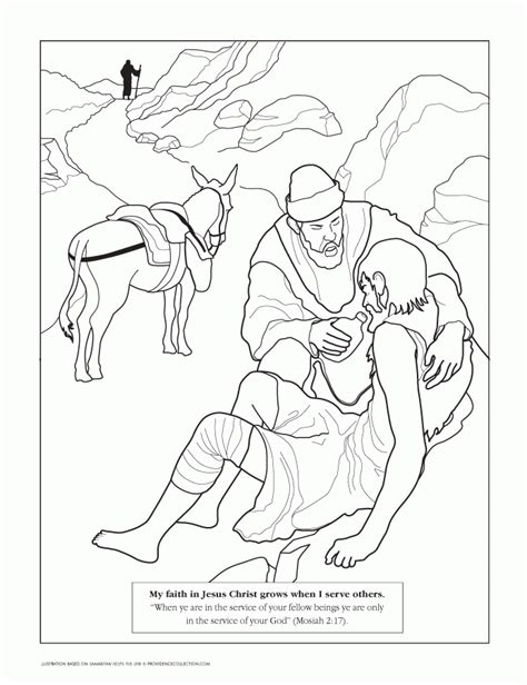 Samaritan Coloring Pages For by The Samaritan Coloring Pages Coloring Home