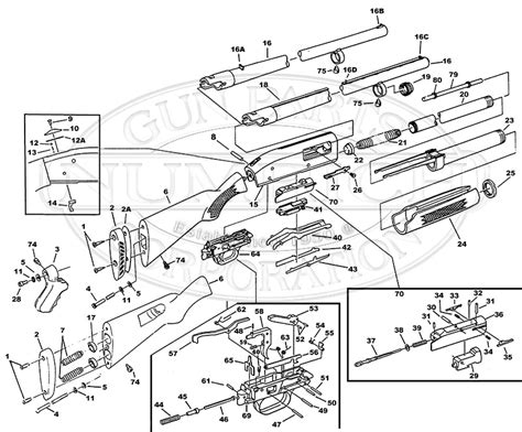 mossberg 500 parts diagram 835 schematic numrich in mossberg 500 parts diagram