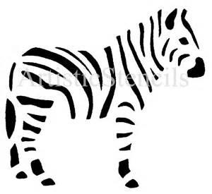 zebra template zebra stencil